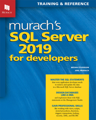 home college just published SQL Server 2019