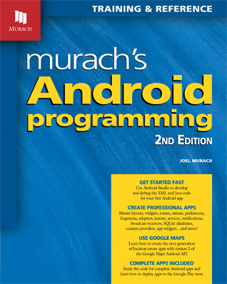 mobile programming books - Android programming