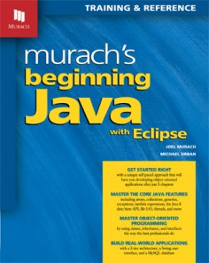 murach's-beginning-java-with-eclipse